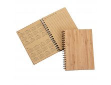 Caderno/Agenda Permanente - Capa Bambu