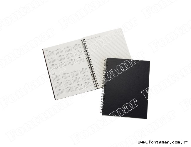 Agenda - Caderno Capa Preta