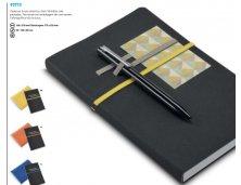 Caderno em Couro Sintetico