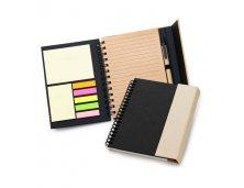 Caderno de anotações na cor preta Marcalaser