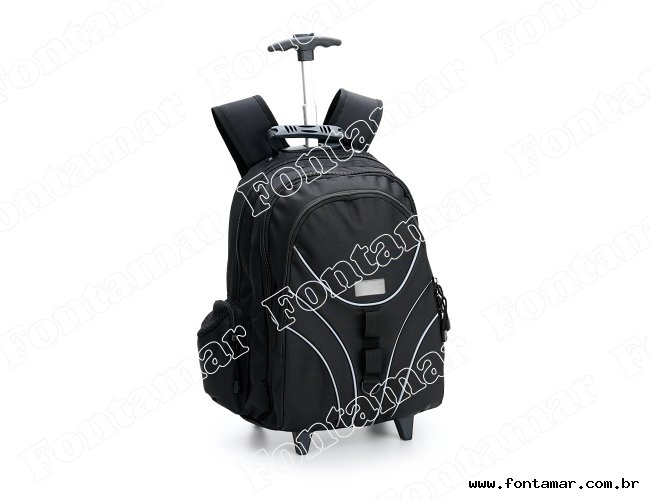 Mochila tipo trolley com rodinhas - Marcalaser
